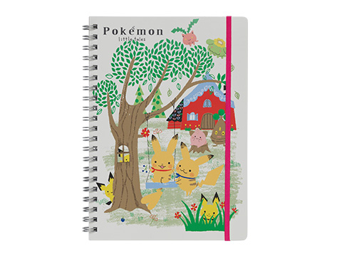 リングノート Pokemon little tales 650円(★)