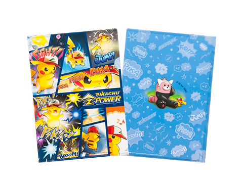 A4クリアファイル PIKACHU Z POWER 240円