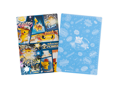 下敷き PIKACHU Z POWER 250円