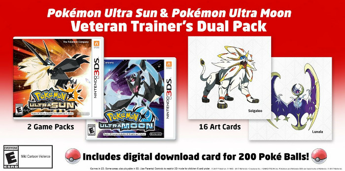 ポケモンUSM、Veteran Trainer's Dual Pack