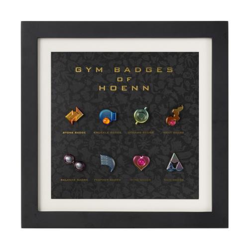 「ジムバッジコレクション コンプリートセット ホウエン」は、ポケモンセンターオンラインで販売されます