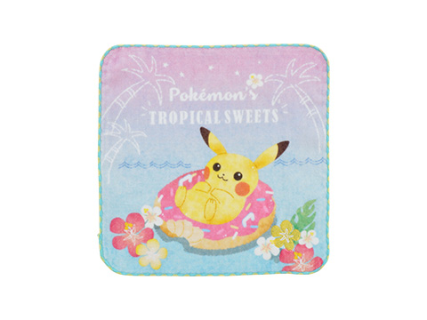 ハンドタオル Pokemon's TROPICAL SWEETS 500円(★)