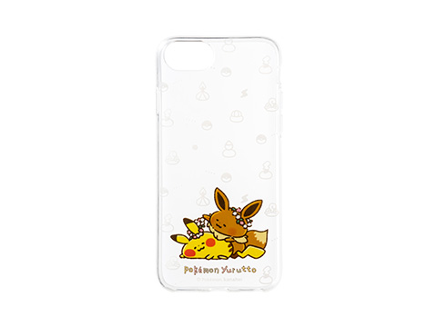 ソフトジャケット for iPhone 8/7/6s/6 Pokemon Yurutto 1,880円(★)