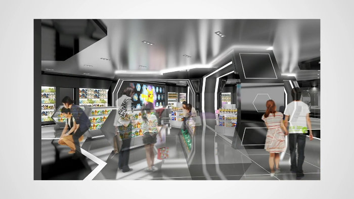 渋谷は、パルコの新店舗が準備中であり、今回のポケモンセンターは、このパルコの新店舗の中