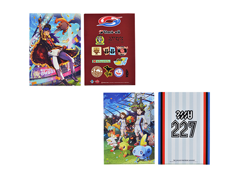 A4クリアファイル THE GALAR POKEMON LEAGUE!! 264円