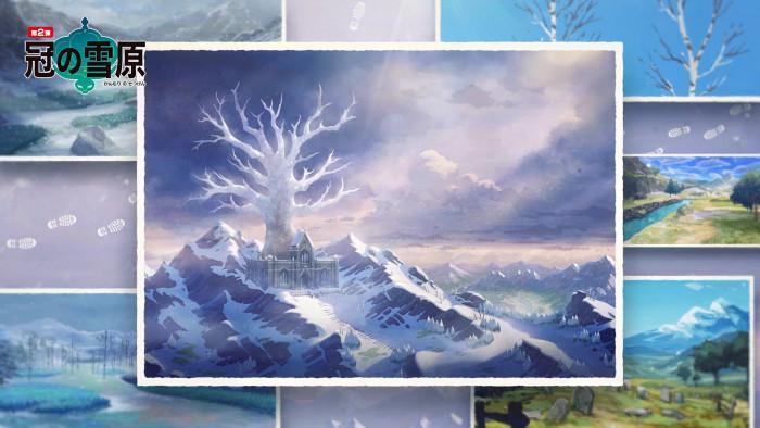 冠の雪原はスコットランド
