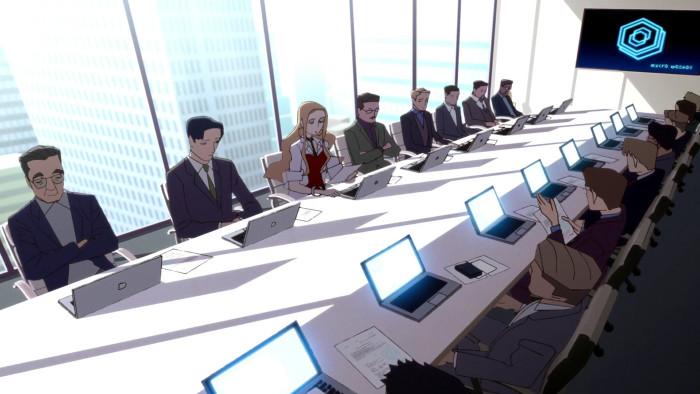 オリーヴは、ローズの秘書で、ローズの会社で副社長も務めており、実質的な経営を任されている状態