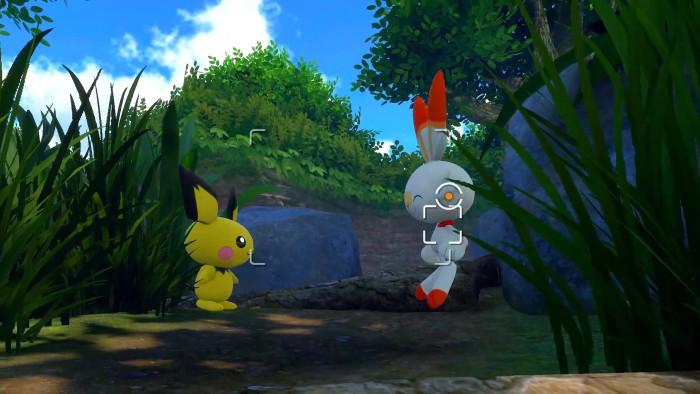 ニンテンドウ64版と同じようにポケモンの写真を撮り、生態を調べるようなゲームになっています