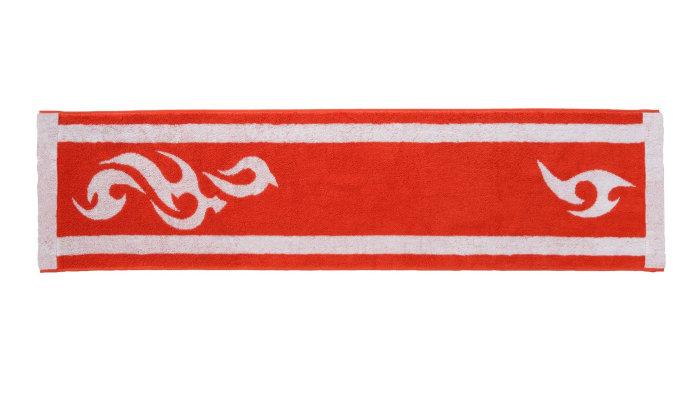 「カブのタオル」は、これ以上の説明は何もない、カブが使っているものと同じデザインのタオルであり