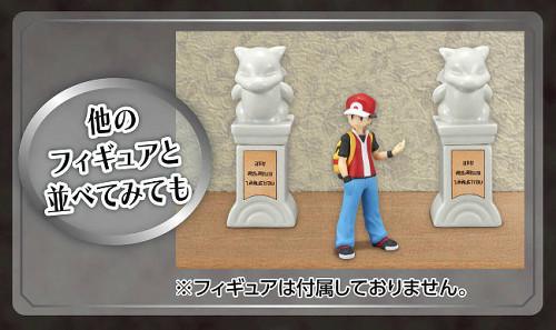 この「ジムに置いてある石像」は、陶器で商品化され、2つ1セットで販売