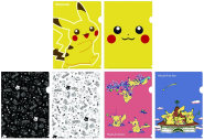 A4クリアファイル2枚セット 「Pikachu」「PIKACHUUUU!」「Pikachu in the farm」セット