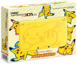 Newニンテンドー3DS LL ピカチュウ 予約