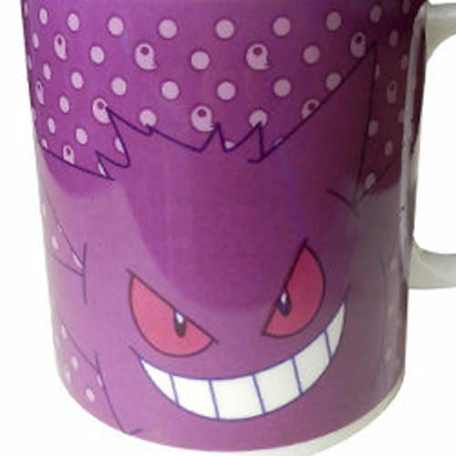 ピカチュウ、ゲンガー、初代シルエットのポケモンの陶器製マグカップが発売中