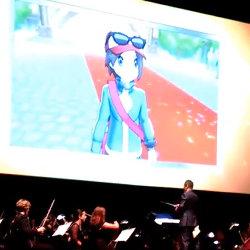 ポケモンXYエンディング曲「KISEKI」を指揮する増田順一氏の動画。シンフォニックエボリューション2015で