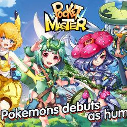 ポケモンを美少女に擬人化したゲーム「Pocket Master」が、iOS、Androidで勝手に配信される