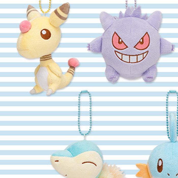 Pokemon Petit Pastel、デンリュウ、ゲンガー、ライチュウ、ヒノアラシ、ミズゴロウ