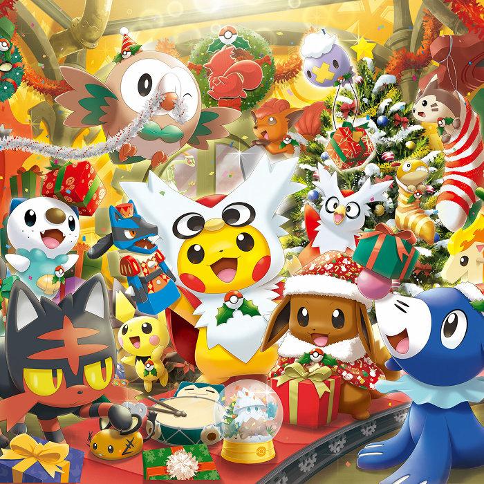 ポケモンの2016年クリスマス&ウィンターグッズ