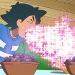 ポケモンアニメ サトシ、キラキラ処理が入って、「はかいこうせん」みたいになる