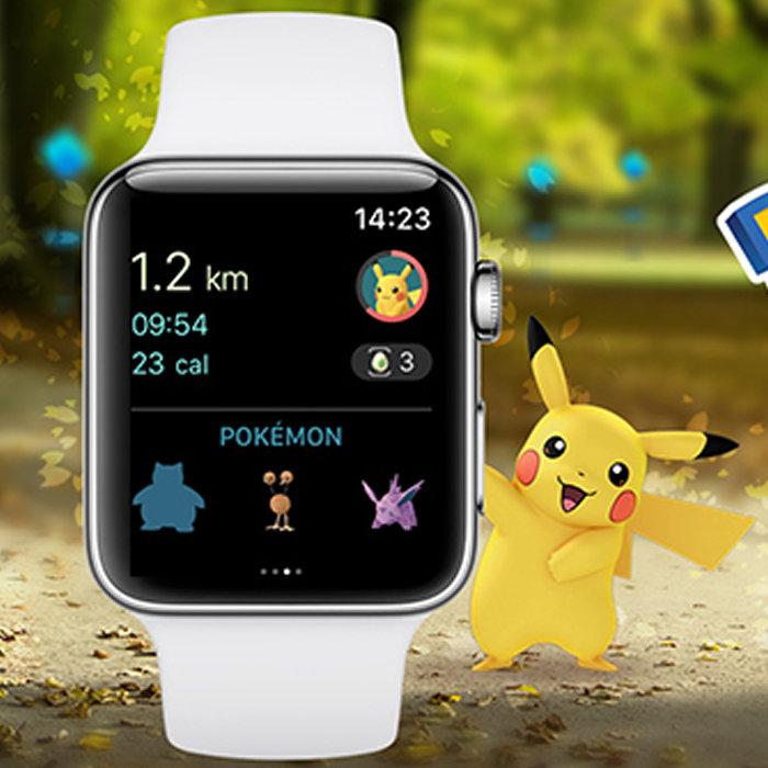 ポケモンGO、Apple Watchに対応。Plusの方が優れている