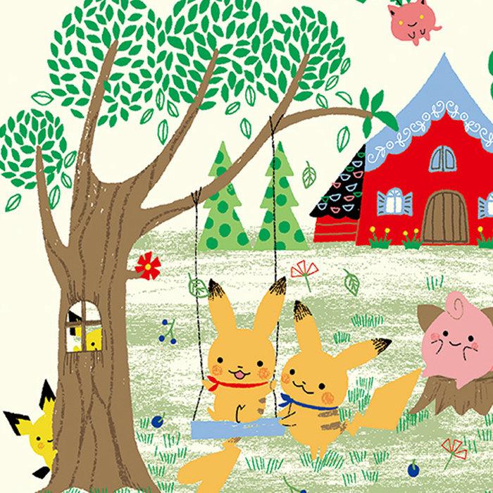 Pokemon little tales 第4弾、ピカチュウにピチュー、森のおうちでの暮らし