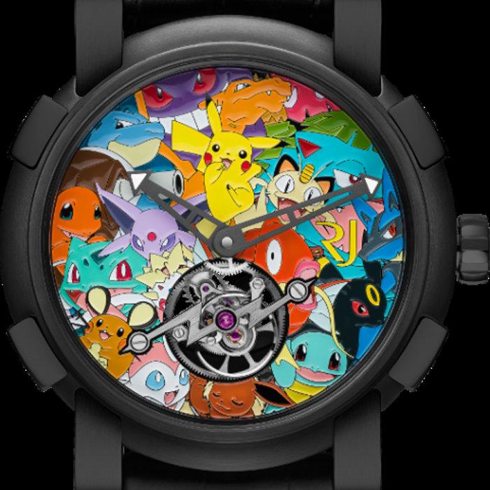 ポケモンの腕時計、2900万円ロマン・ジェローム