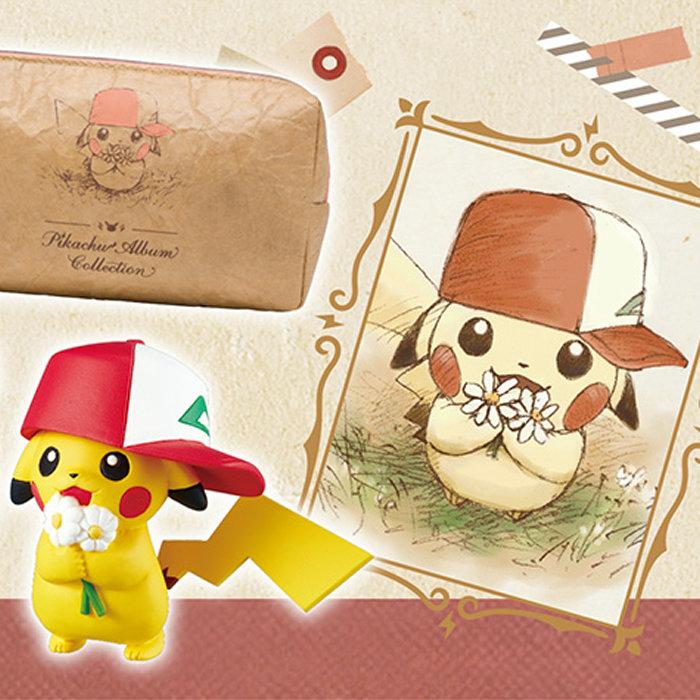 サトシの帽子ピカチュウ「Pikachu Album Collection」