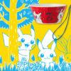 北欧テイストのキッチン雑貨など、「Pikachu in the forest」グッズ登場