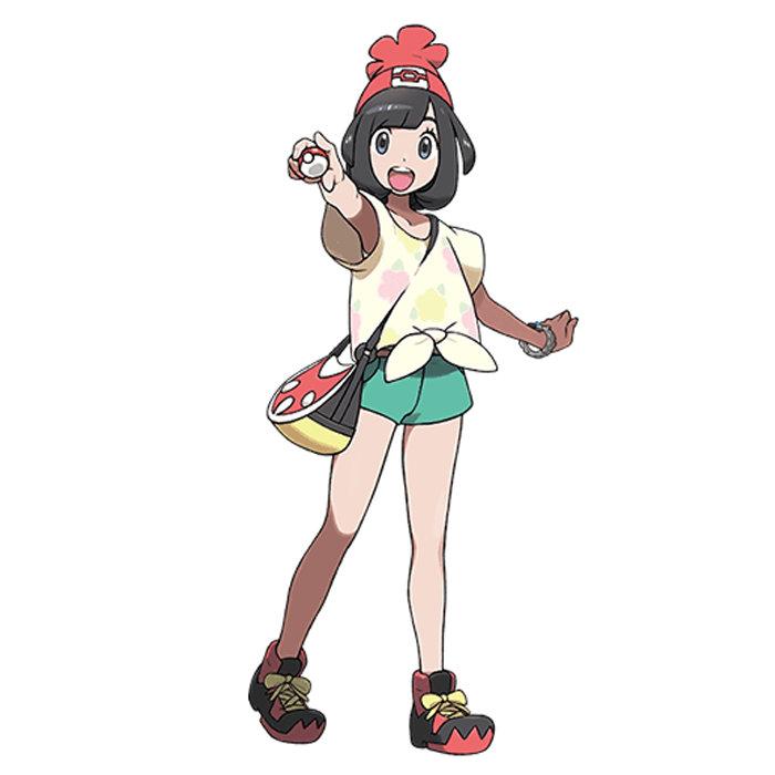 ポケモン サン ムーン、女主人公の名前、公式「ミヅキ」