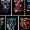 ポケモンの歴代ボスをNC帝國がデザインした、Tシャツなどのグッズ登場