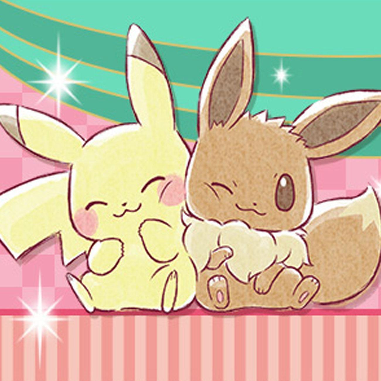 Pokemon Collectionくじ 2018 ピカチュウ&イーブイ