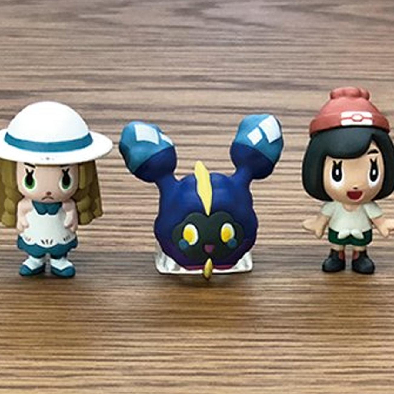ポケモン、アセロラ・リーリエ・ミヅキのミニフィギュア