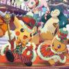 ポケモンの2018年クリスマスグッズ登場。ピカチュウとイーブイがパレード