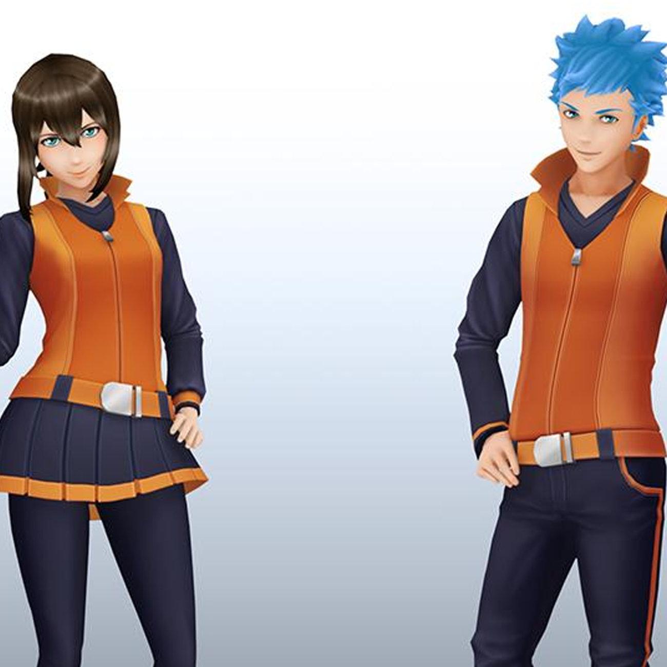 ポケモンGO、イッシュ&カロスのベテラントレーナー衣装