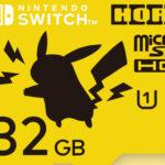 ポケモンのマイクロSDカード登場。ピカチュウとモンスターボール