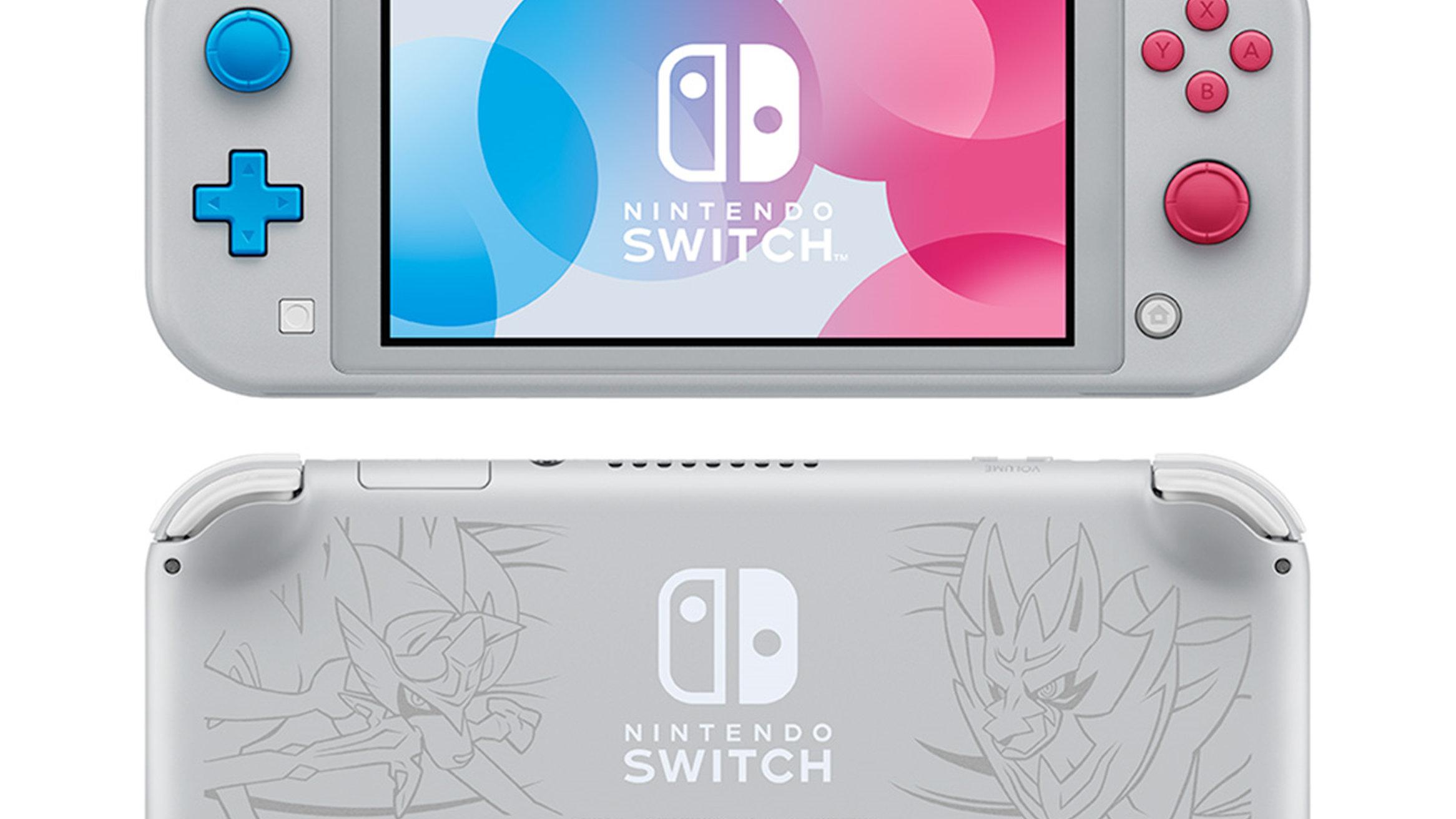 Nintendo Switch Lite ザシアン・ザマゼンタ予約。新型スイッチ