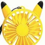 ポケモンのハンディ扇風機が付いたオトナミューズ登場。ピカチュウ刺繍ポーチも