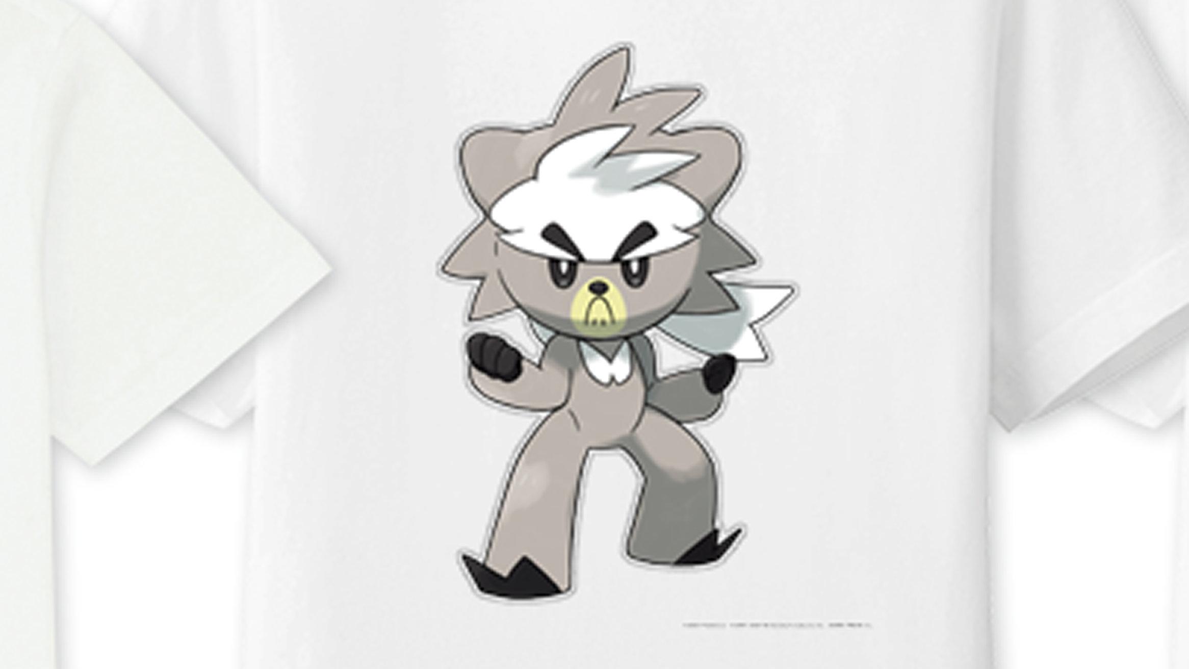 ユニクロ、ポケモン剣盾の好きなポケモンをデザインTシャツ