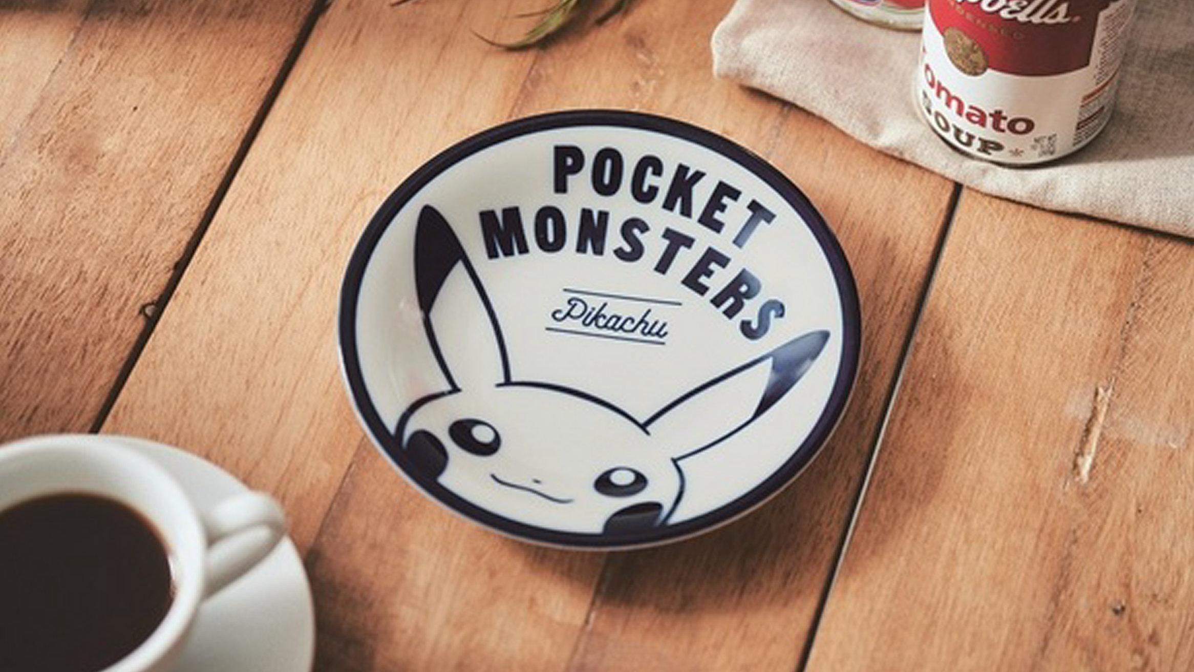 ピカチュウの美濃焼のお皿がsteady付録。インテリアバッグ