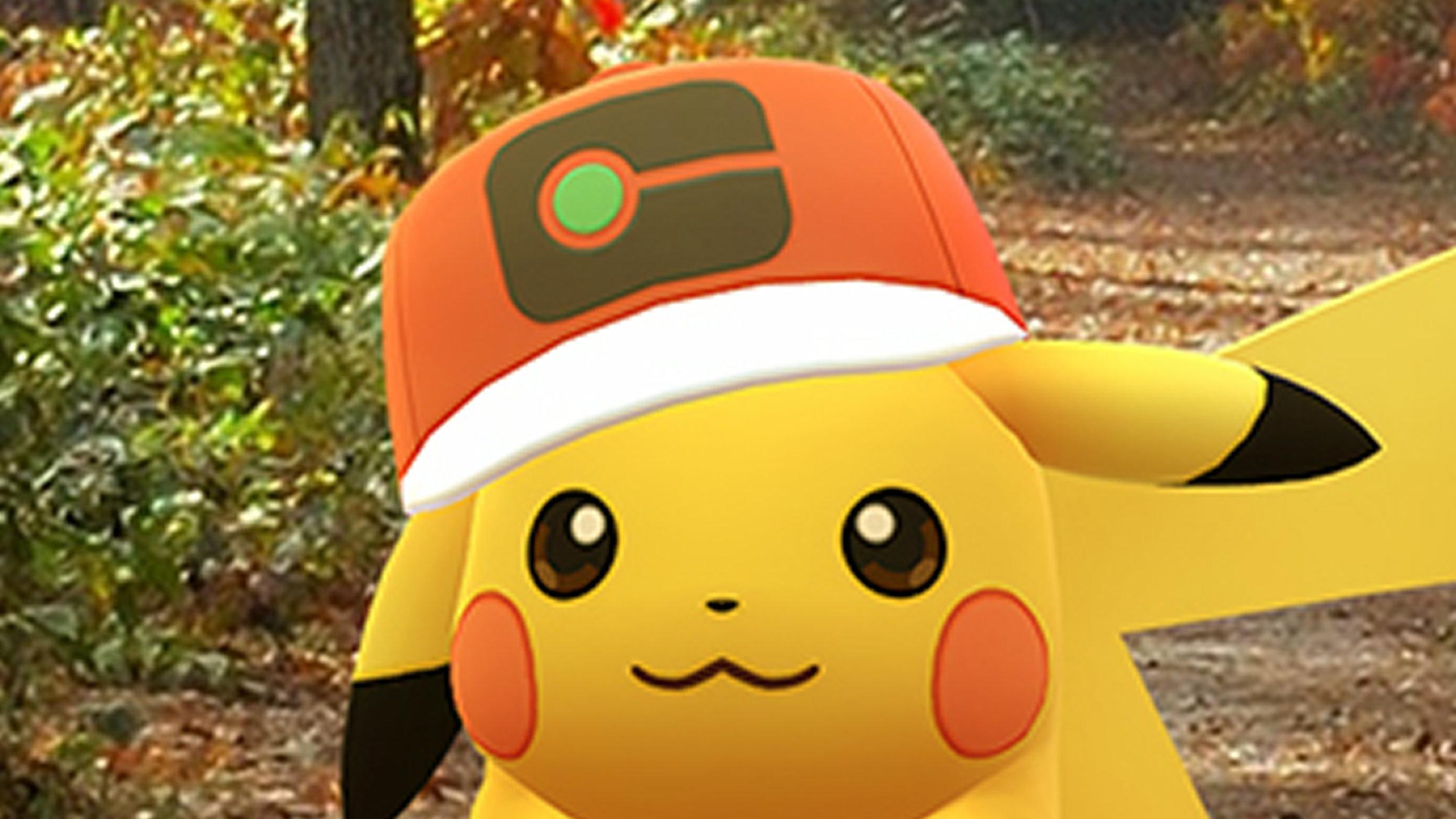 ポケモンGO、サトシ帽子ピカチュウ入手ポケモンアニメとのコラボ