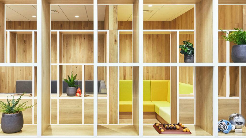 ポケモン赤緑の設定がモチーフ、ゲームフリークの新オフィスがおしゃれ