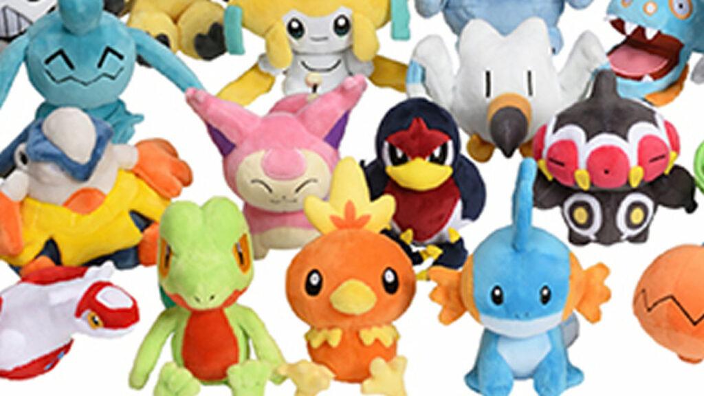 ポケモン ルビー サファイア、Pokemon fitとして全てのポケモンがぬいぐるみに