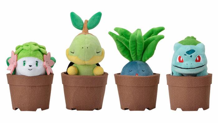 ポケモン Grassy Gardening、植木鉢に入ったナゾノクサやシェイミ登場