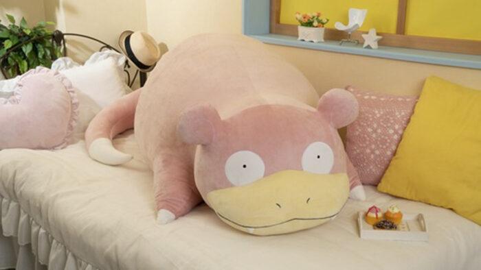 ポケモン、等身大ヤドンぬいぐるみ登場。大きさ150cm、重さ7.8kg、価格49500円