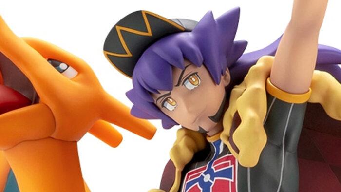 ポケモン剣盾、ダンデ&リザードンのフィギュア登場。27500円